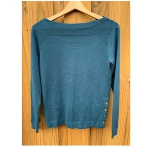 ANN TAYLOR sweater size S teal color
